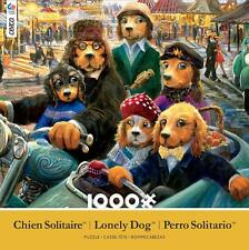 CEACO LONELY DOGS JIGSAW PUZZLE NIGHT AT THE CARNIVAL 1000 PCS #3392-2