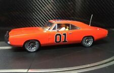 PIONEER SLOT CAR NEW UNBOXED DODGE CHARGER DUKES 'GENERAL LEE' - SCALEXTRIC DPR
