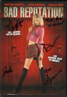 Bad Reputation Movie DVD Signed By Cast