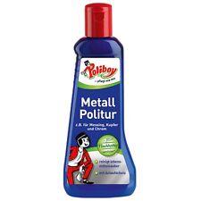 Poliboy Metall Politur 200ml (22,25€/Liter) Messing Kupfer Chrom Glanz Schutz