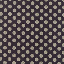Moda Fabric Farmers Daughter Shabby Dots Charcoal - Per 1/4 Metre