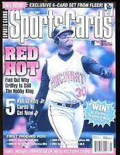 Sports Cards Magazine July 2001 Ken Griffey Jr. w/Mint Cards jhscd5
