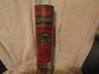 Vintage unopened Ranger Dry Chemical Fire Extinguisher.