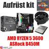 PC Bundle Kit Set ❤ AMD Ryzen 5 3600 ✔ ASRock B450 Mainboard ✔ ≈ 2700