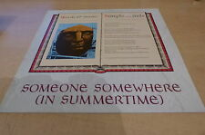 """SIMPLE MINDS - SOMEONE SOMEWHERE - ORIGINAL FRENCH 12""""!!!!!!!"""