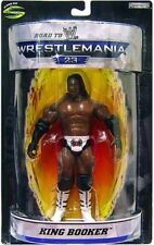 King Booker WWE Road to Wrestlemania 23 Action Figure NIB WWF Wrestling Booker T