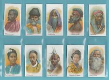 More details for nations - nostalgia repros  (of taddy) - 10 sets of 25 natives of the world