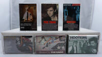 The Cars Hooters Rick Springfield Paul Young  Vintage Rock Cassette Tape Lot x 6