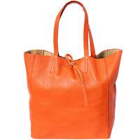 Borsa a Spalla Cuoio Pelle Leather Shoulder Bag Italian Made In Italy 9121