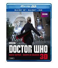 DOCTOR WHO: DARK WATER/DEATH IN HEAVEN 3D  -Blu Ray - Sealed Region free