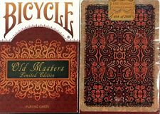 Bicycle Old Masters Playing Cards (Numbered Limited Edition Tuck and back card)