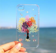Pressed Real Dried Flower Rainbow Tree Cover for iPhone iPhone 7