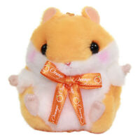 Hamster Plush Doll Stuffed Animal Amuse Japan Scented Orange Keychain 4 Inches
