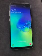 samsung s10 plus replica Duel Sim White Bargain Excellent Condition