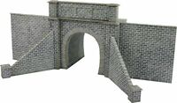 Metcalfe PN143 N Gauge Tunnel Entrance - Single Track Card Kit