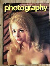 Vintage Photography magazine rare Feb 1968 Las Vegas construction Victoria Line