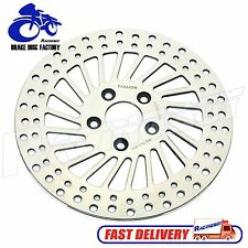 "11.5"" Polished Rear Brake Disc Rotor for Harley Dyna FXR FXD FXDL FXDB 82-99"