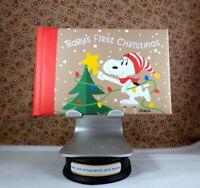Hallmark Baby's First Christmas Photo Holder - Snoopy - PEANUTS - 24 4x6 Photos
