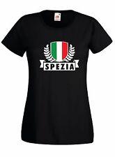 T-shirt Maglietta Donna J1801 La Spezia Città d'Italia Ultras
