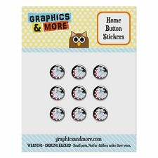 Home Button Stickers Set Fit Apple iPhone 5 5c 5s 6 6s Plus Dog Puppy