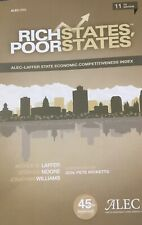 Rich states Poor States 11th Edition State Economic Competitiveness Index 31A