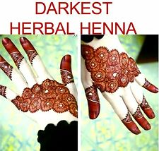 3 x Fresh Made Henné Mehndi Tattoo Kit CONI BODY ART HOMEMADE UK Venditore