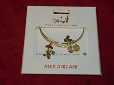 Disney Parks Alex and ANI Jiminy Cricket with Umbrella Silver 2020 Bracelet New