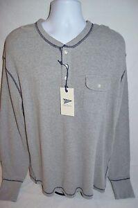 GANT by MICHAEL BASTIAN Mans WAFFLE Henley T-Shirt NEW Size XX-Large Retail $145