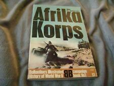 "1-1968 Ballantine's History of WW II, ""AFRIKA CORPS"", 160 Pages."
