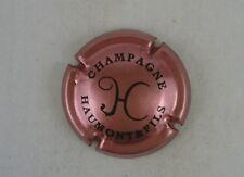 capsule champagne HAUMONT & fils rose et noir