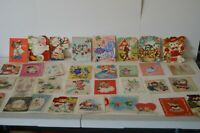 Amazing Collection Vintage Greeting Cards Christmas Santa Birthday Animals