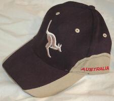 New AUSSIE BLUE Baseball Hat RARE CAP With Tags NWT Australia KANGAROO LOGO