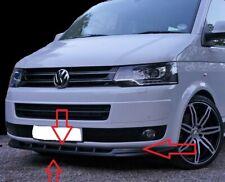 VW TRANSPORTER T5.1 LOWER FRONT ABS GLOSS BLACK SPLITTER SPOILER BUMPER LIP