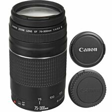 Canon EF 75-300mm f/4-5.6 III Lens for 7D 60D 7DMKII 70D T5I T4I