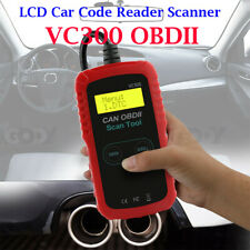 VC300 OBD2 Vehicle Car Code Reader Scanner Engine Diagnostic LCD Handheld Tool