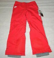 Spyder Olympia Kids Red Snow Ski Snowboard Winter Pants - Girl's 16 Short New