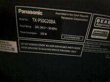 Panasonic TX-P50G20BA Television
