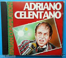 rare cd adriano celentano italian compilation 24mila baci rock matto personality