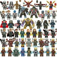 Lego Avengers Minifigures Marvel DC Thor Loki Infinity War End Game Super Heroes
