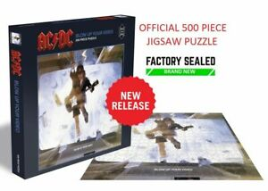 OFFICIAL AC/DC - Blow Up Your Video 500 Piece Jigsaw Puzzle NEW