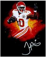 Tyreek Hill 8x10 Signed Autographed Photo ( Chiefs ) REPRINT