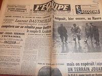 L'EQUIPE BOXE LAURENT DAUTHUILLE  ANNÉE 1950