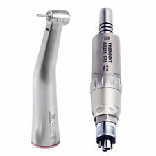 Dentaire 1:5 LED Contre Fiber Optic Contra Angle Air Motor Handpiece KAVO Sirona