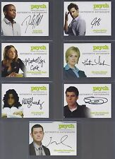 PSYCH Authentic Auto S1-4: KRISTEN NELSON as Chief Karen Vick (only) FreeSH