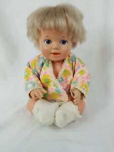 Baby Alive Vintage 1976 General Mills Kenner Doll 11 in. Siitting position