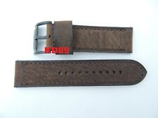 Genuine original Fossil ME-3127 Brown leather strap band 24mm