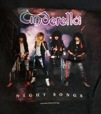 Cinderella band Night Songs shirt 80s Glam Rock