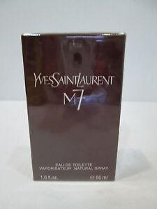 """"""" M7 de YVES SAINT LAURENT """" PROFUMO UOMO EDT 50ml o AFTER SHAVE - Vintage"""