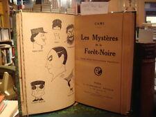 CAMI [Pierre Henri] Les Mystères de la Forêt-Noire 1917 E.O.