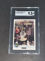 1992 Classic Draft Picks #1 Shaquille O'Neal SGC 9.5 RC Rookie Regrade to PSA 10